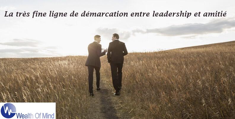 Amitié et leadership