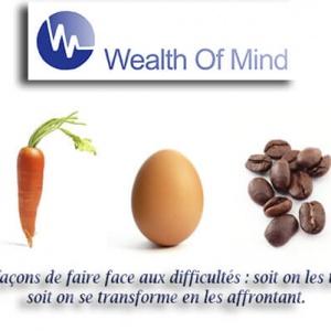 La carotte, l'œuf et le grain de café