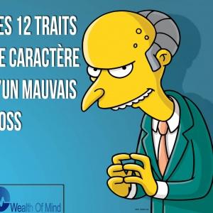 Les 12 traits de caractère du patron détestable, détesté et inefficace