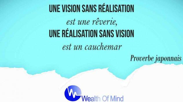vision et réalitation des entreprises et leurs objectifs